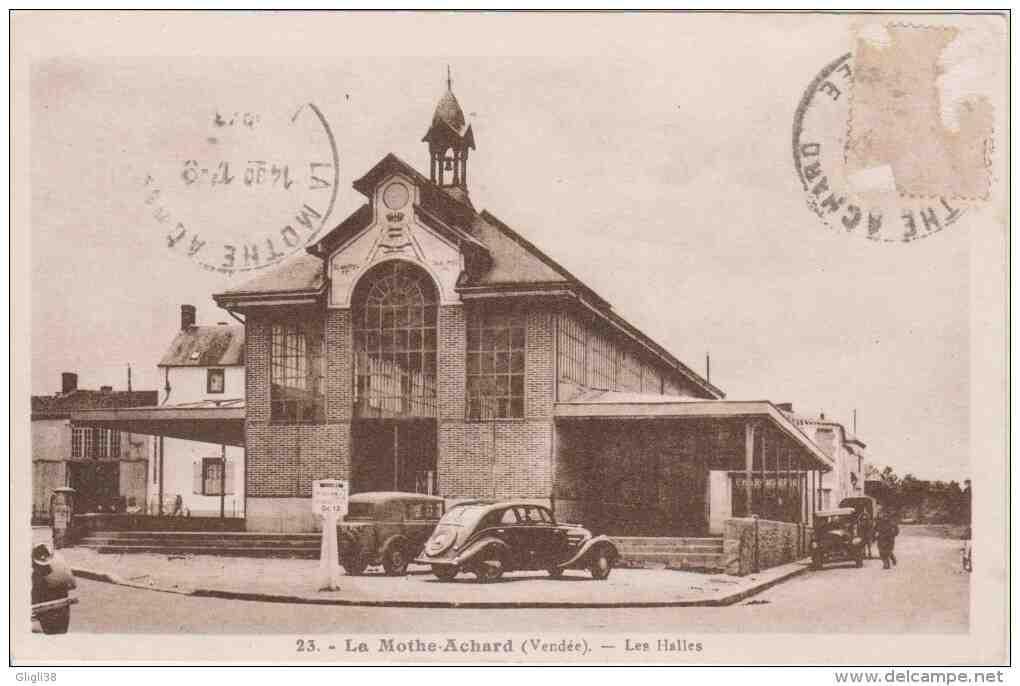 Les Halles de La Mothe-Achard - Meconnu.fr - Vendée